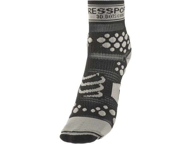 Compressport Racing V2 Trail Chaussettes hautes, black/grey